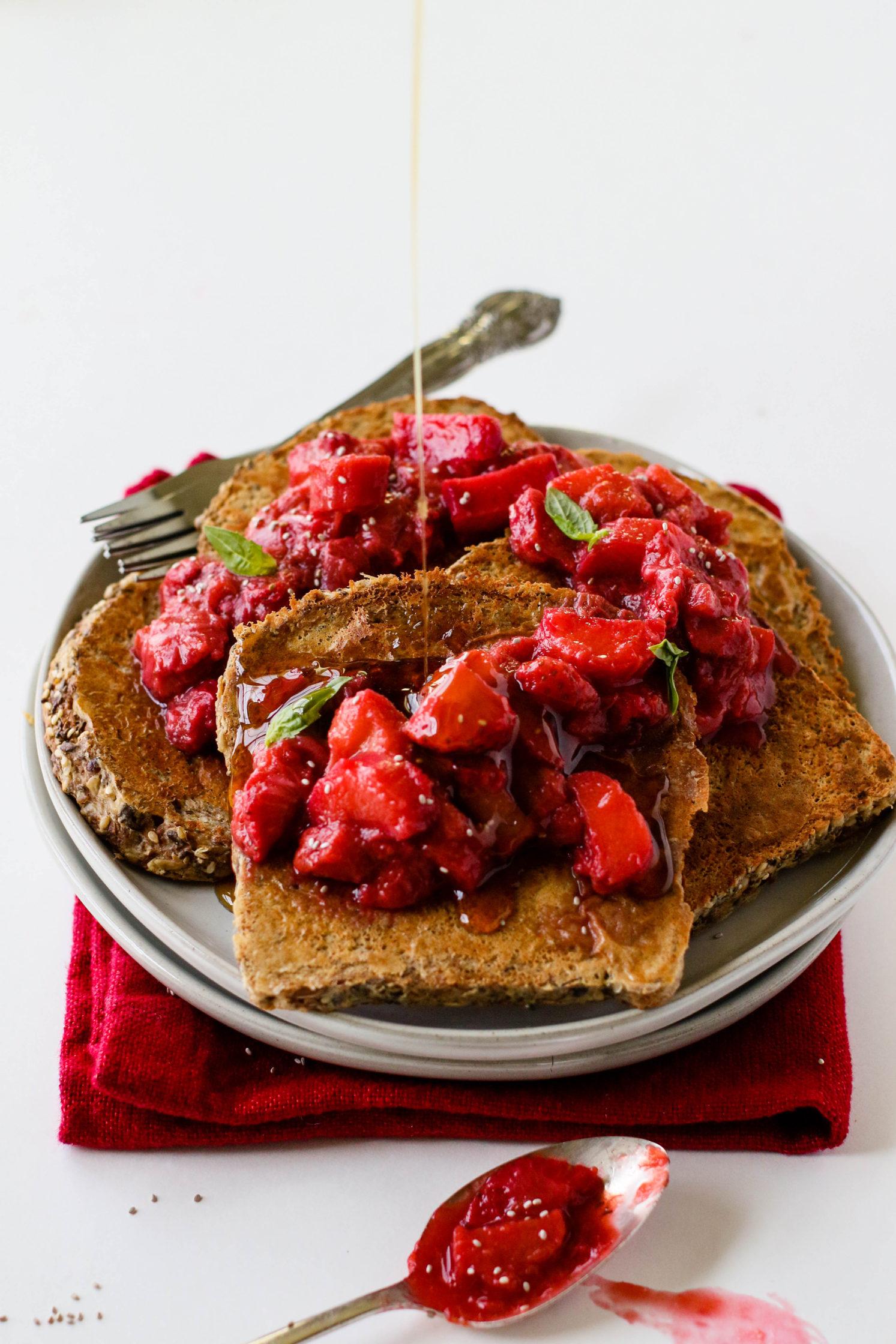 Plant Based Breakfast Toast
