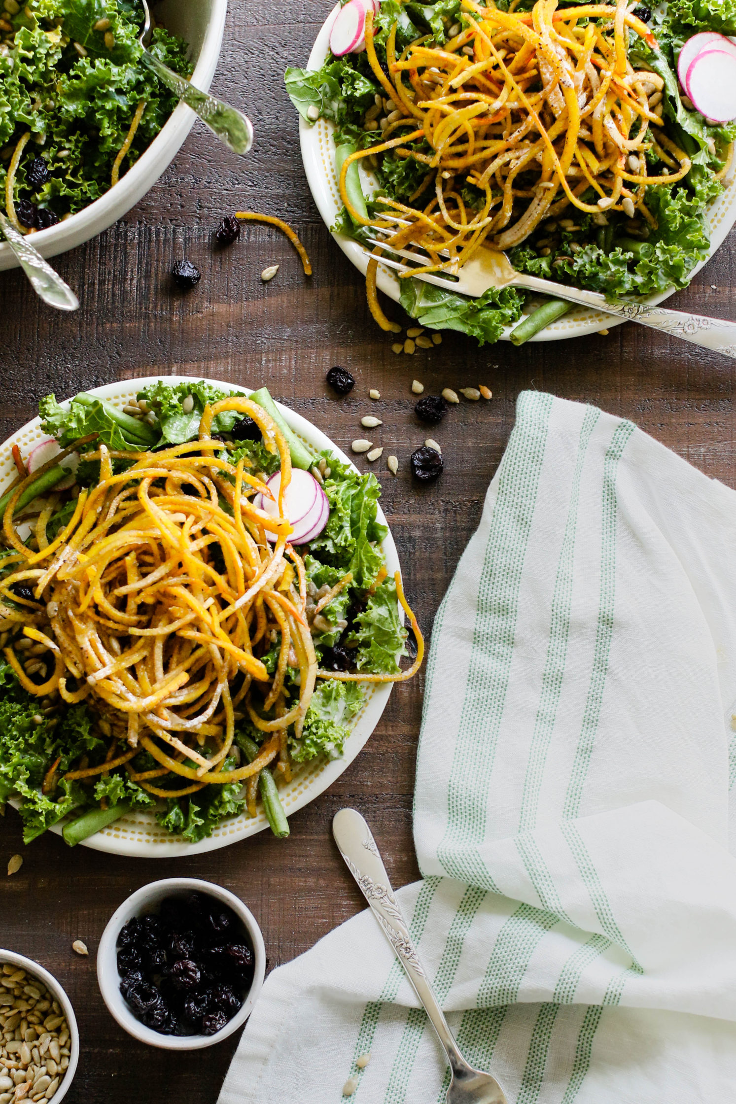 Golden Beet & Green Bean Salad