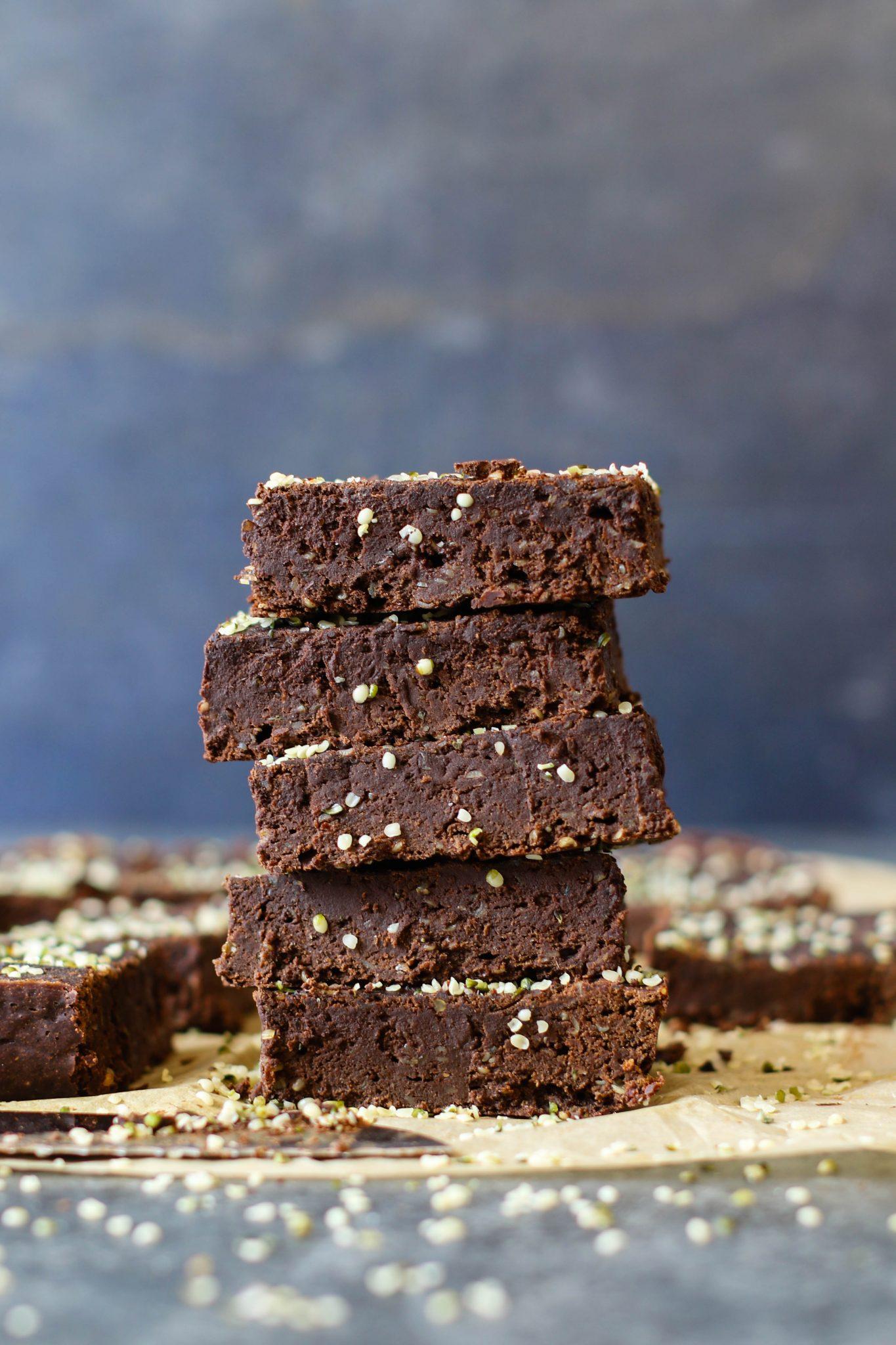 No-Sugar-Added Black Bean Brownies by Flora & Vino