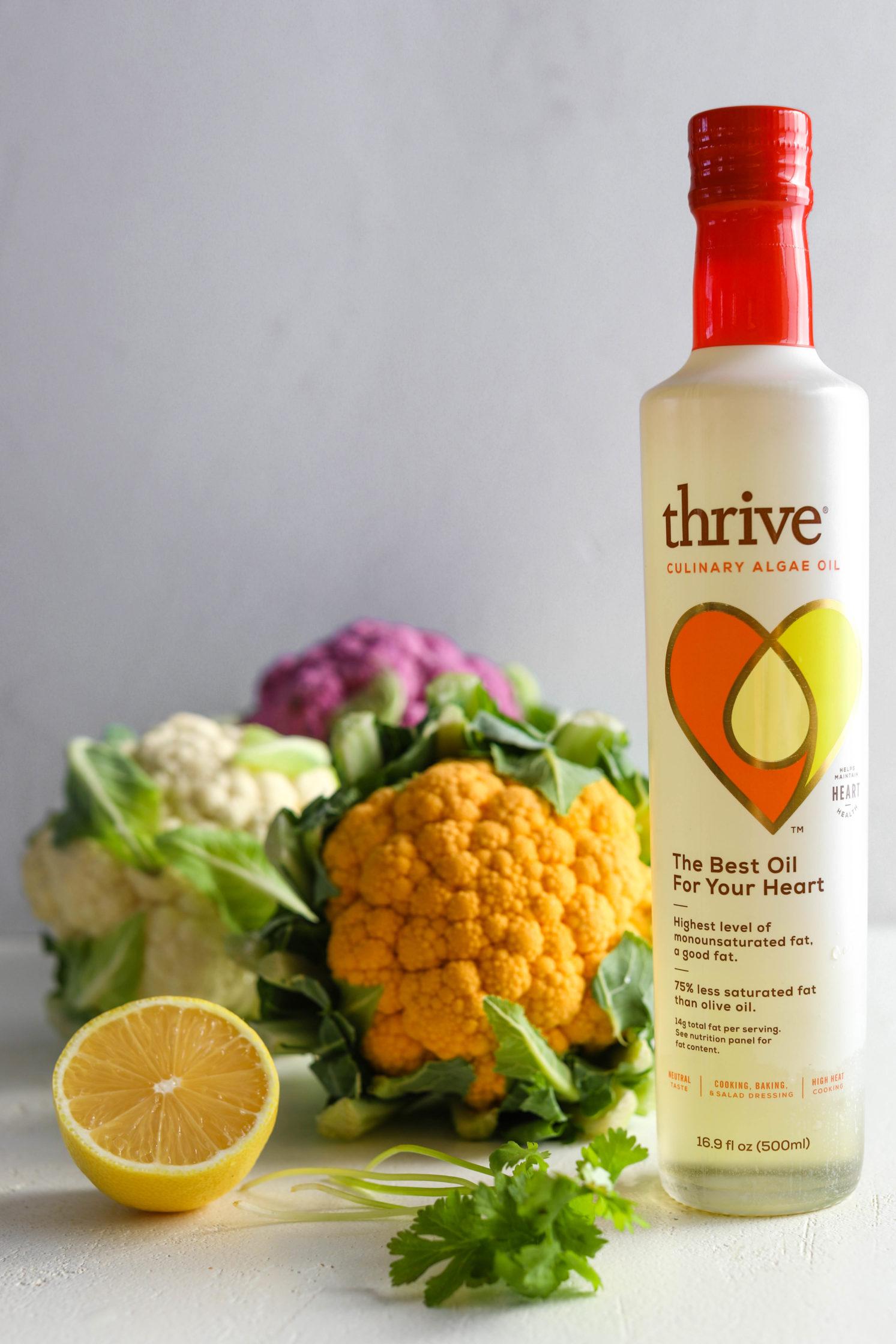Tri-Colored Roasted Cauliflower Salad ingredients