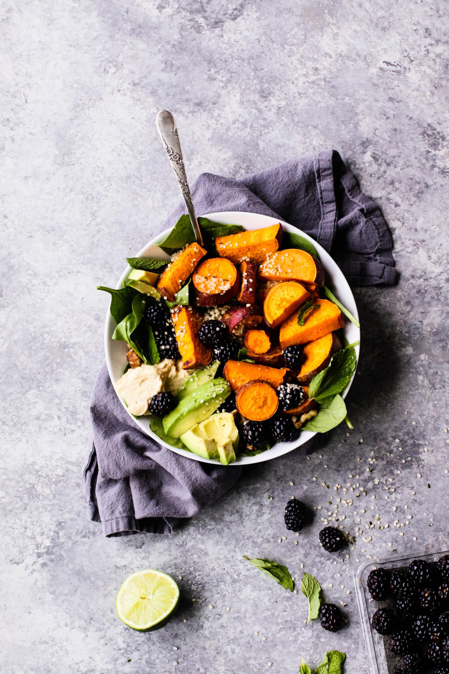Sweet & Savory Breakfast Salad (V, GF, OF)