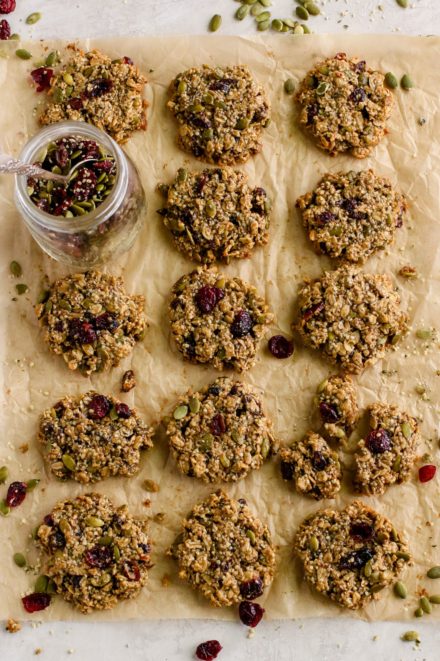 5-Seed Trail Mix Cookies (Nut-Free)