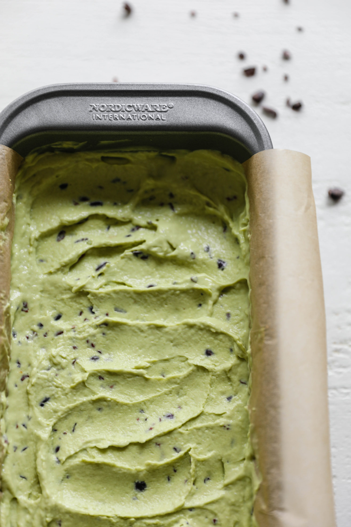Avocado Mint Cacao Chip Ice Cream Sandwiches by Flora & Vino