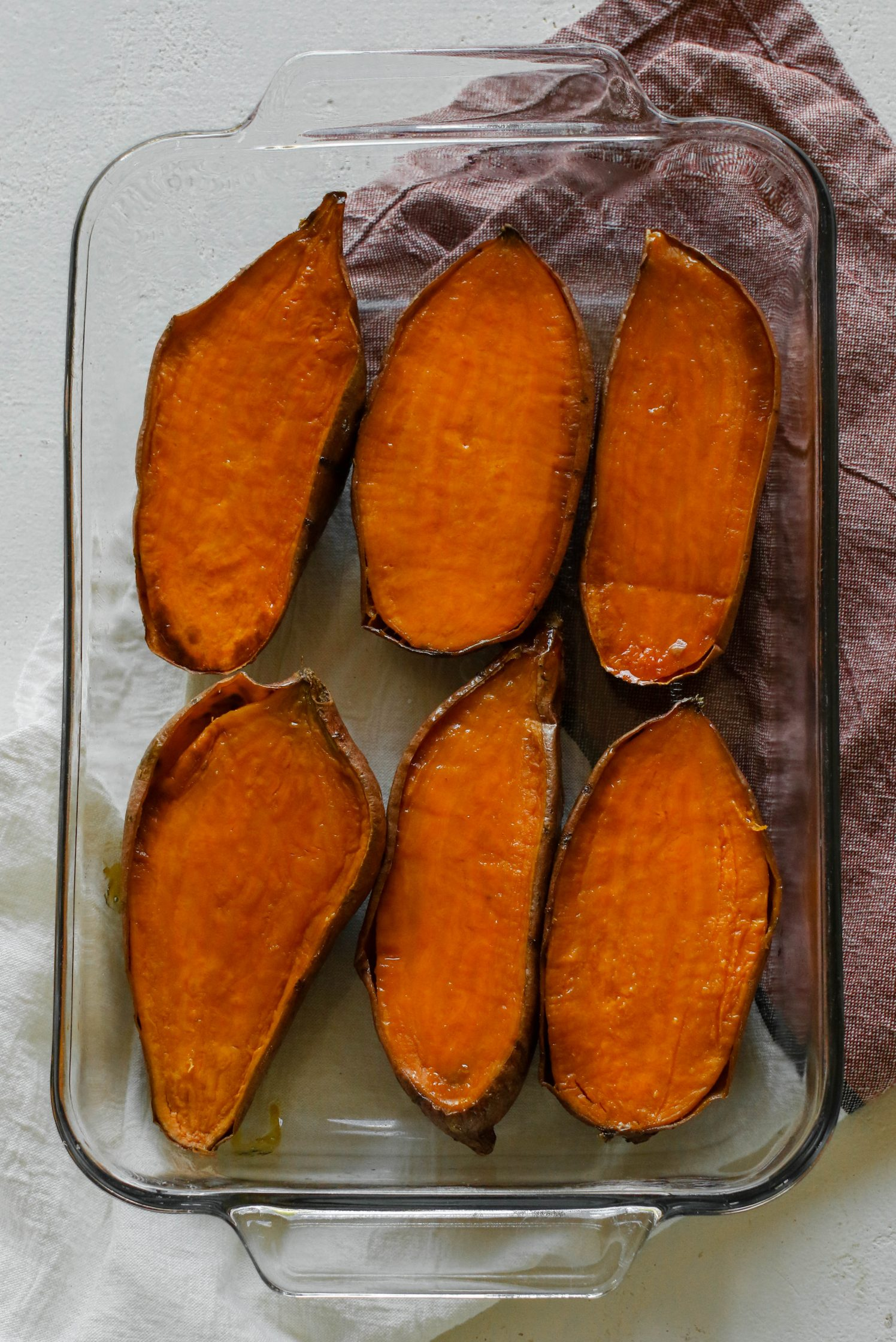 Baked Yams by Flora & Vino